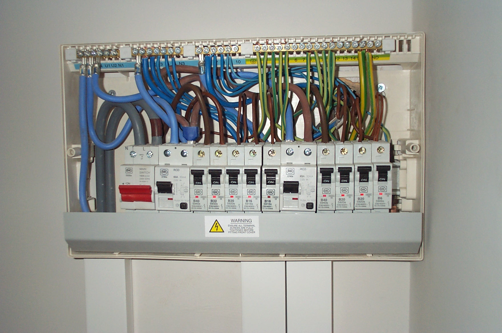 consumer unit upgrades cost of replacing fuse box with consumer unit cost wiring  at creativeand.co